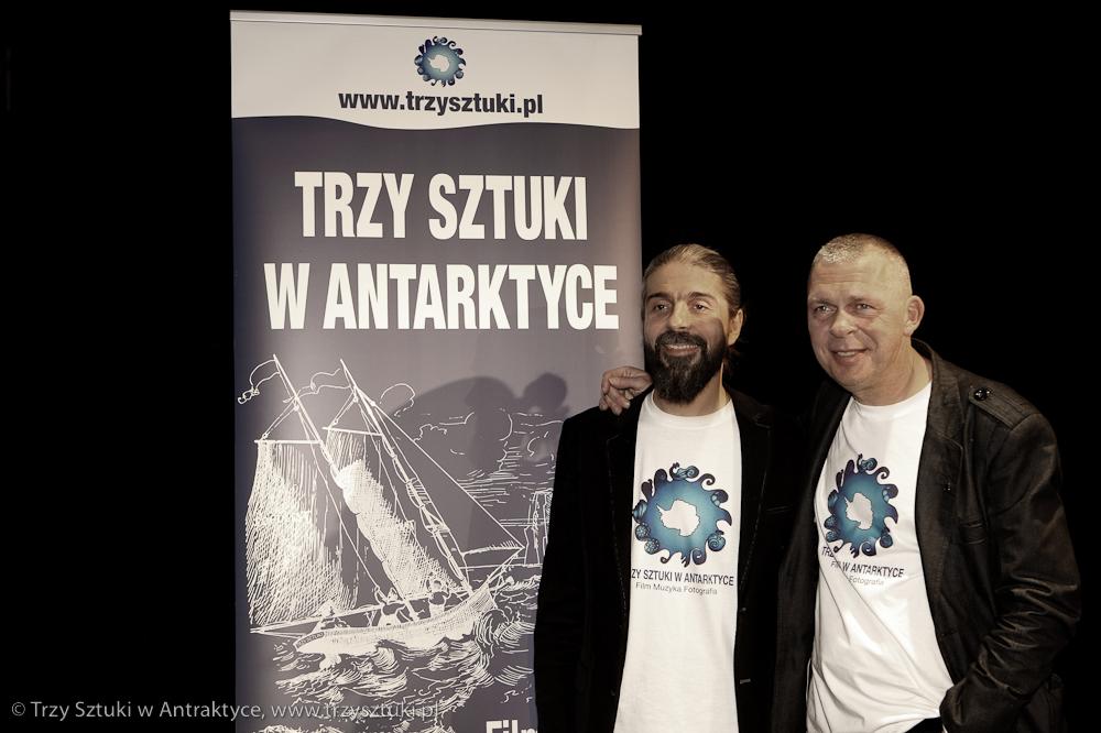"""Konferencja Prasowa """"Trzy Sztuki w Antraktyce"""", Trojka 11022016"""